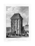 Main Gate, Chateau De Vincennes, Paris, 1830 Giclee Print by Augustus Welby Northmore Pugin