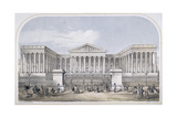 British Museum, Holborn, London, 1853 Giclee Print by Augustus Butler