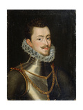 Portrait of the Governor of the Habsburg Netherlands Don John of Austria, 16th Century Giclee Print by Alonso Sanchez Coello