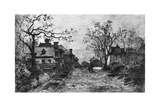Village of Artemare, C1820-1890 Giclee Print by Adolphe Appian