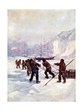 The Ships Were Called the Terror and the Erebus, 1847 Giclee Print by AS Forrest