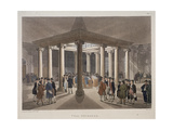 Coal Exchange, London, 1808 Giclee Print by Augustus Charles Pugin