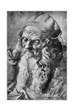 Head of Old Man, Late 15th-Early 16th Century Reproduction procédé giclée par Albrecht Durer