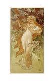 Spring, 1896 Giclee Print by Alphonse Mucha