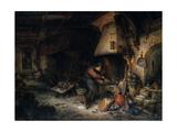 'An Alchemist,' 1661 Giclee Print by Adriaen Van Ostade