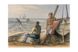 Shrimpers, C1845 Giclee Print by Benjamin Waterhouse Hawkins