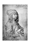 Self Portrait at the Age of Thirteen, 1484 Giclee Print by Albrecht Durer