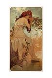 Summer, 1896 Giclee Print by Alphonse Mucha