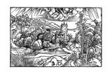 Landscape, 1498 Giclee Print by Albrecht Durer