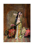 Eastern Girl, 1908-1909 Giclee Print by Albert Gilbert