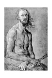 Christ, Man of Sorrow, with DurerS Features, 1522 Giclee Print by Albrecht Durer