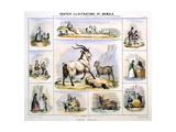 The Goat, C1850 Giclee Print by Benjamin Waterhouse Hawkins