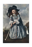 The Girl Golfer, C1650 Giclee Print by Aelbert Cuyp