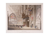 Guildhall, London, 1808 Giclee Print by Augustus Charles Pugin