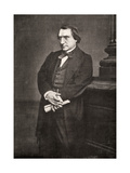 Ernest Renan, French Philosopher and Writer, 19th Century Giclee Print by Antoine-samuel Adam-salomon