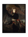 Napoleon Bonaparte on the Bridge at Arcole, 1797 Giclee Print by Antoine-Jean Gros