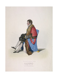 Alderman Sir William Heygate, Seated and in Civic Costume Showing Robe and Hat, 1825 Giclee Print by Abraham Wivell