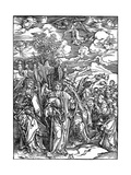 The Four Angels Holding the Winds, 1498 Giclee Print by Albrecht Durer