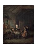 Rural Musicians, 1645 Giclee Print by Adriaen Van Ostade