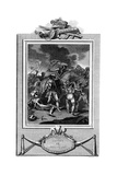 Battle of Agincourt, Hundred Years War, October 1415 Giclee Print by A Smith