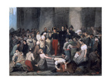 The Duke of Orleans ..During the Cholera Epidemic, C1830 Giclee Print by Alfred Johannot