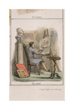 The Artist, C. 1845 Giclee Print by Benjamin Waterhouse Hawkins