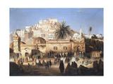 Mosque of El Mecolla, Algiers, C1821-1849 Giclée-tryk af Antoine Victor Joinville