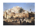Mosque of El Mecolla, Algiers, C1821-1849 Giclee Print by Antoine Victor Joinville