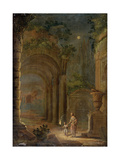 Landscape, End of 16th Century Giclee Print by Adam Elsheimer