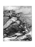 Shepherd Resting, C1860-1910 Giclee Print by Alphonse Legros