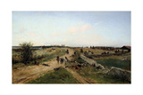Scene from the Franco-Prussian War, 1870, 19th Century Giclee Print by Alphonse De Neuville