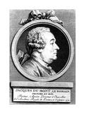Jacques Dumont, French Artist, 1770 Giclee Print by Augustin De Saint-aubin