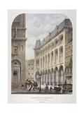 Bow Churchyard, London, C1860 Giclee Print by Andrew Maclure