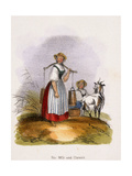 For Milk and Cheese, C1845 Giclee Print by Benjamin Waterhouse Hawkins