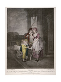 Round and Sound Fivepence a Pound Duke Cherries, Cries of London, 1795 Giclee Print by Antoine Cardon