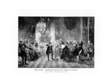 Fredrick Great Concert at Sanssouci, 1900 Giclee Print by Adolph Menzel