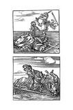 Tournament Scenes, 1515-1516 Giclee Print by Albrecht Durer