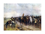 Oliver Cromwell and His Troops at Dunbar Singing the 118th Psalm, 1926 Giclee Print by Andrew Garrick Gow
