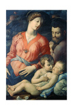 The Panciatichi Holy Family, 1530-1532 Giclee Print by Agnolo Bronzino