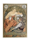 Poster for the Societe Populaire Des Beaux Arts, 1897 Giclee Print by Alphonse Mucha