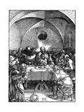 The Last Supper from the 'Great Passion' Series, C1510 Giclee Print by Albrecht Durer