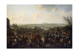 The Siege of a Town, 1660 Giclee Print by Adam Frans van der Meulen