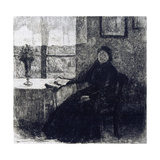 Grandmother, 1909 Giclee Print by Alexandre Lunois