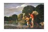 Tobias and Angel, 1578-1610 Giclee Print by Adam Elsheimer