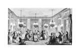 Le bal Reproduction procédé giclée par Augustin De Saint-aubin
