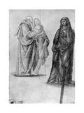 Studies of Saints, Attributed to Orcagna, 1913 Giclee Print by Andrea Orcagna