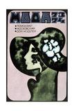 Russian Fashion Poster, 1973 Giclee Print by Aleksander Denisov