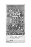 Royal Procession on Fleet Street, City of London, 1837 Giclee Print by Augustus Butler