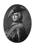 Frederick the Great, King of Prussia Giclee Print by Antoine Pesne