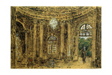Concert in Sanssouci, (Stud), 1850S Giclee Print by Adolph Menzel